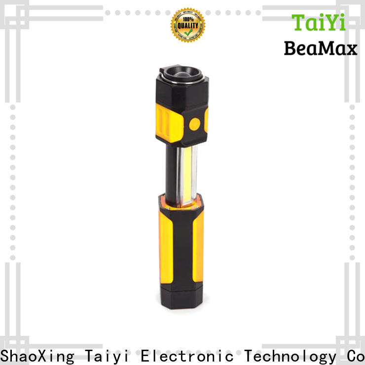 Taiyi Electronic durable rechargeable work light series for roadside repairs