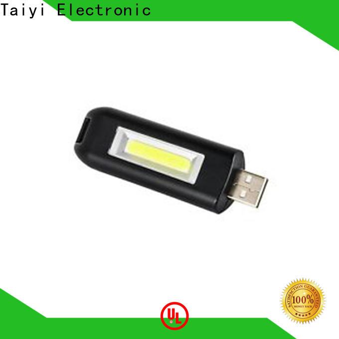 Taiyi Electronic high quality keychain led flashlight wholesale for roadside repairs