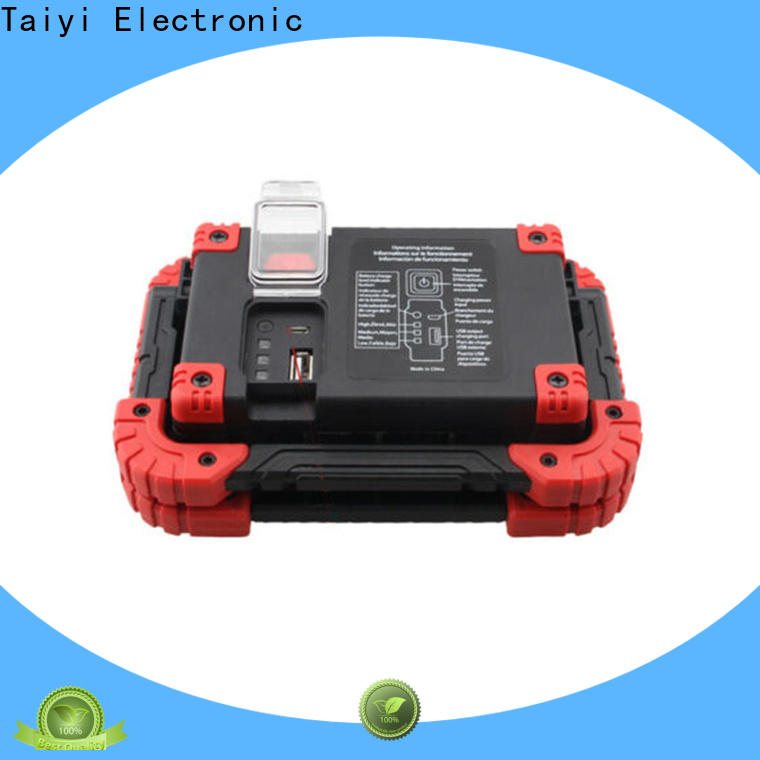 Taiyi Electronic flashlight cob work light supplier for multi-purpose work light