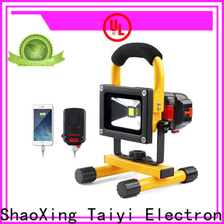 Taiyi Electronic rechargeable best led work light supplier for electronics