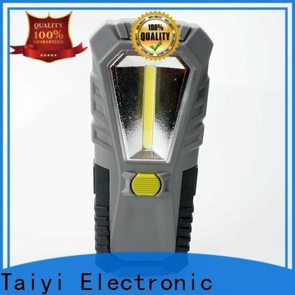 Taiyi Electronic flashlight 12 volt led work lights supplier for electronics