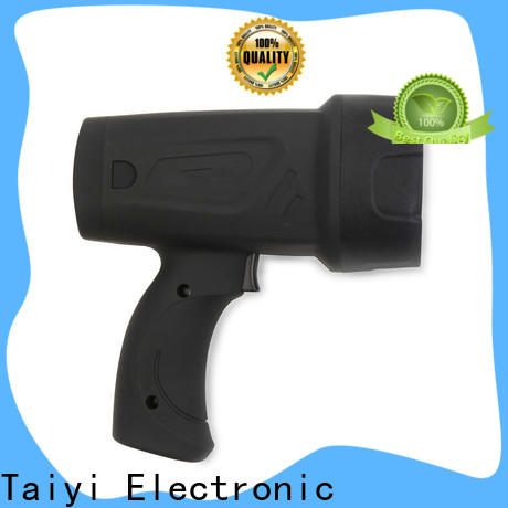Taiyi Electronic portable led handheld spotlight 12v series for search