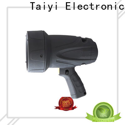 Taiyi Electronic durable brightest portable spotlight wholesale for vehicle breakdowns
