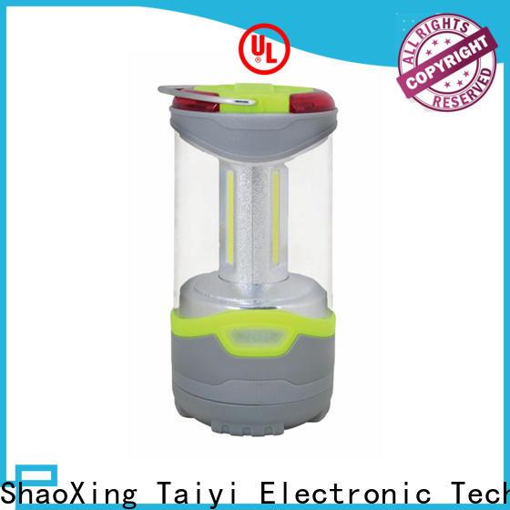 Taiyi Electronic battery led camping lantern series for multi-purpose work light