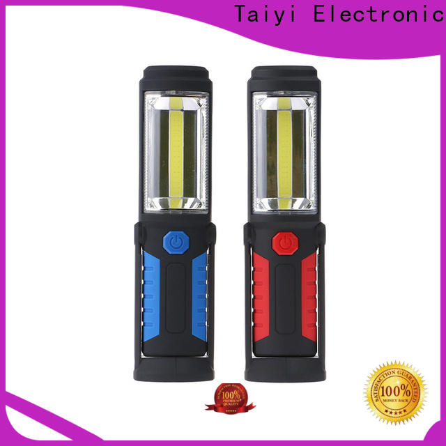Taiyi Electronic cabinet rechargeable cob work light wholesale for roadside repairs