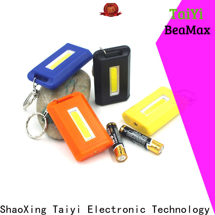 Taiyi Electronic professional keychain flashlight wholesale for multi-purpose work light