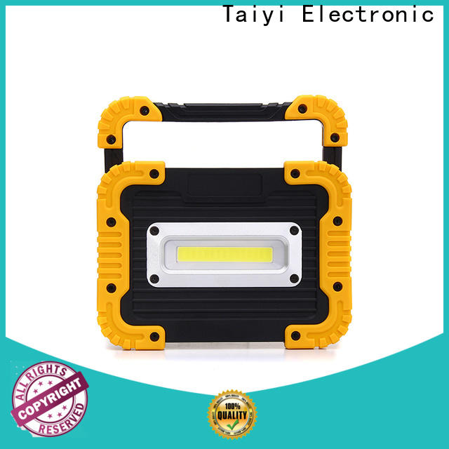 Taiyi Electronic camping 12 volt led work lights wholesale for roadside repairs