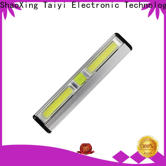 Taiyi Electronic rechargeable portable work light wholesale for electronics