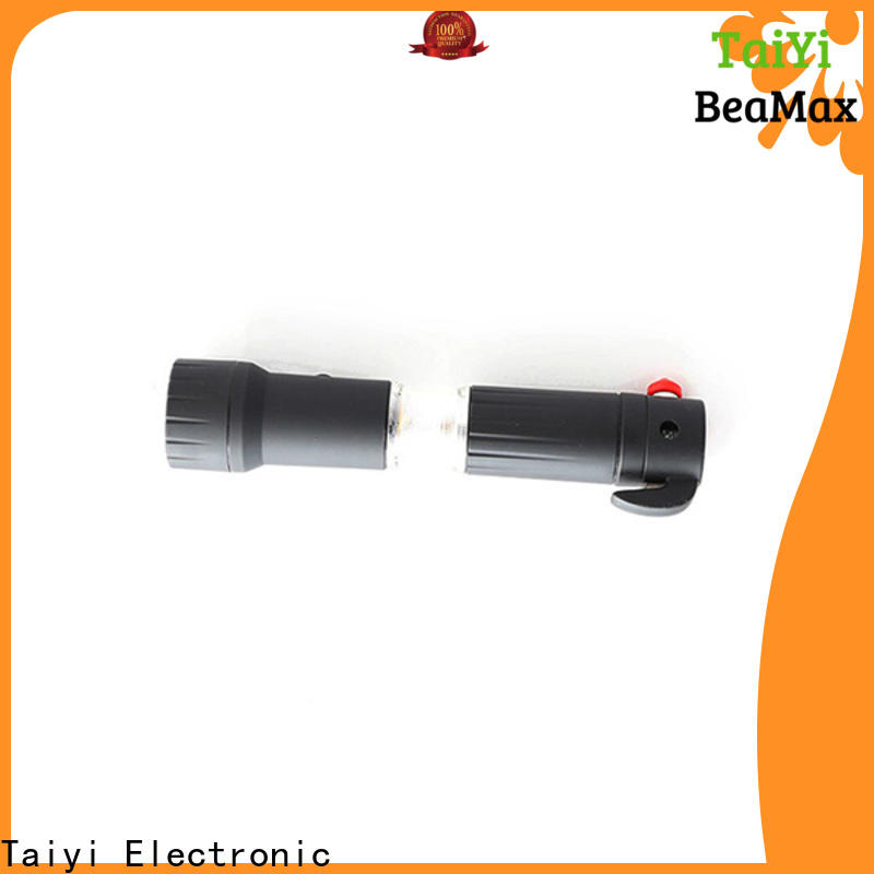 Taiyi Electronic function rechargeable led flashlight series for multi-purpose work light