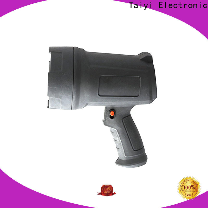 Taiyi Electronic well-chosen 12v handheld spotlight supplier for vehicle breakdowns
