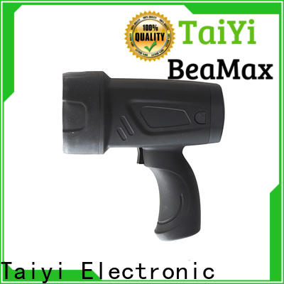 Taiyi Electronic durable handheld battery spotlight series for camping