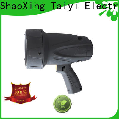 Taiyi Electronic high quality rechargeable spotlight series for search