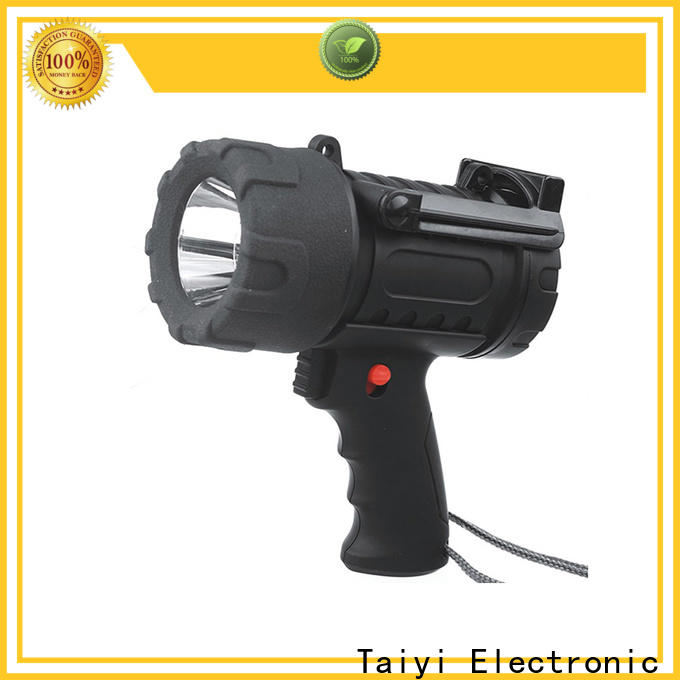 Taiyi Electronic spotlight brightest portable spotlight supplier for search