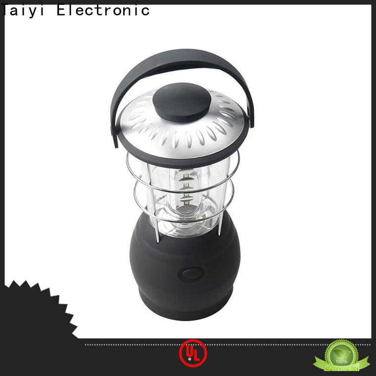 Taiyi Electronic trustworthy battery powered lantern manufacturer for roadside repairs