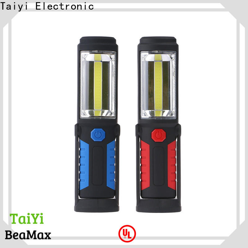 Taiyi Electronic detachable rechargeable magnetic work light manufacturer for electronics
