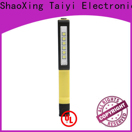 Taiyi Electronic high quality portable rechargeable work lights manufacturer for roadside repairs