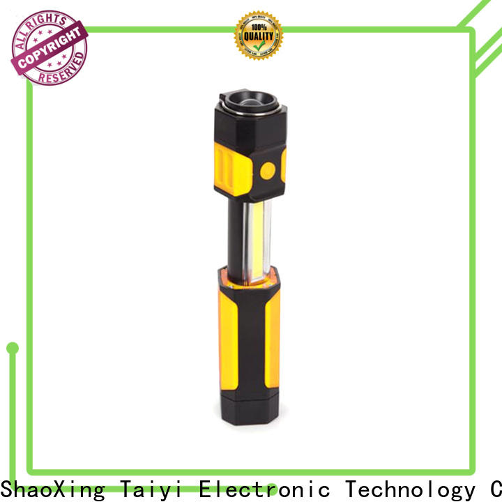 Taiyi Electronic professional rechargeable work light supplier for electronics