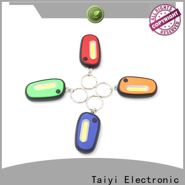 Taiyi Electronic mini led keychain light wholesale for multi-purpose work light