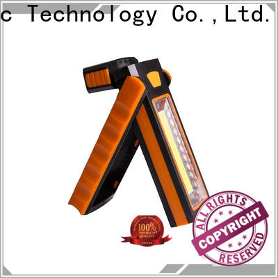 durable cordless led work light flashlight supplier for roadside repairs