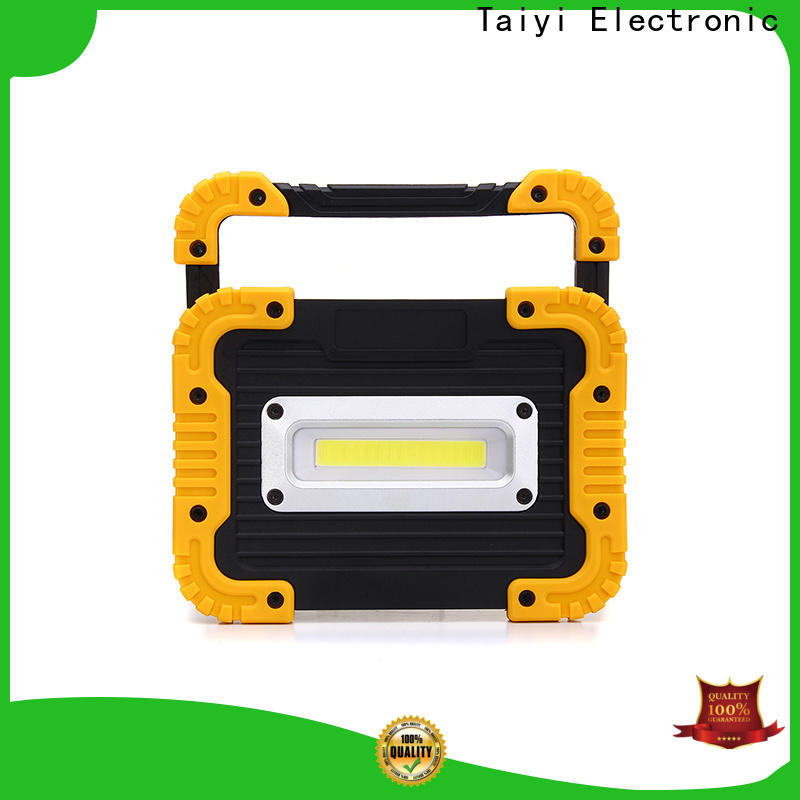 Taiyi Electronic durable rechargeable led work light manufacturer for roadside repairs