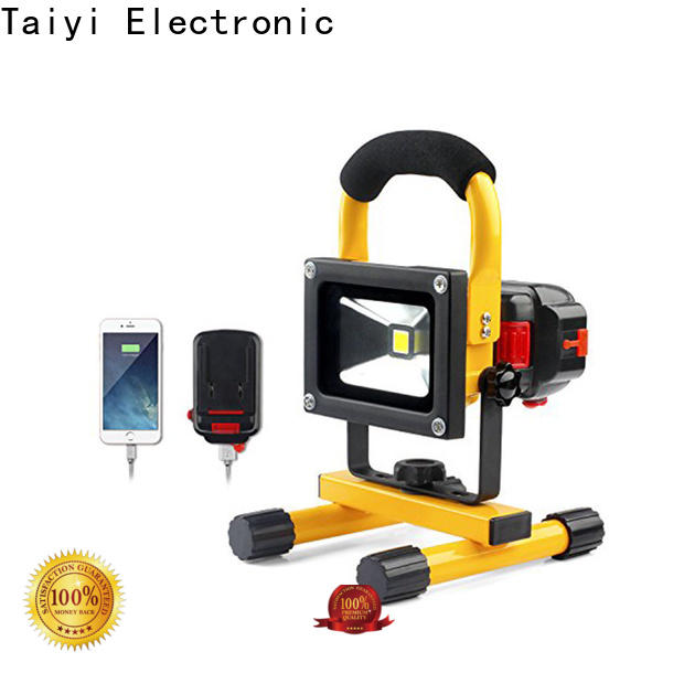 Taiyi Electronic professional cordless work light supplier for multi-purpose work light