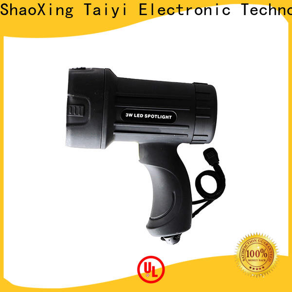 durable best rechargeable spotlight battery supplier for security