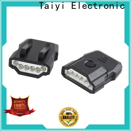 Taiyi Electronic professional round led work lights series for roadside repairs