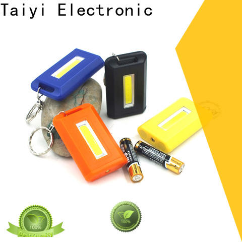 Taiyi Electronic super best keychain flashlight series for roadside repairs