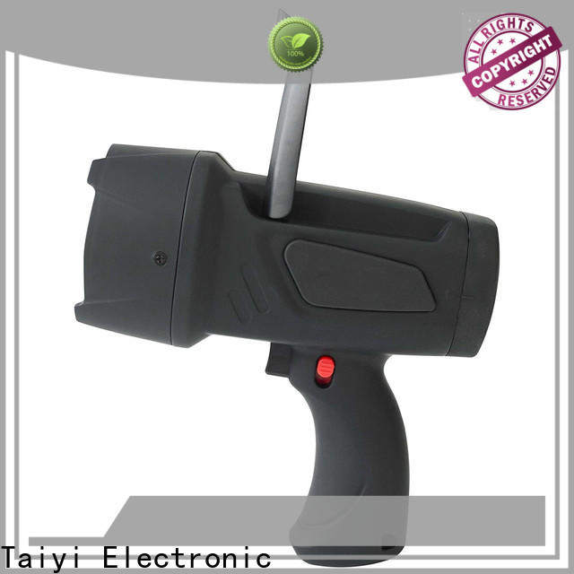 Taiyi Electronic outdoor best rechargeable spotlight series for security