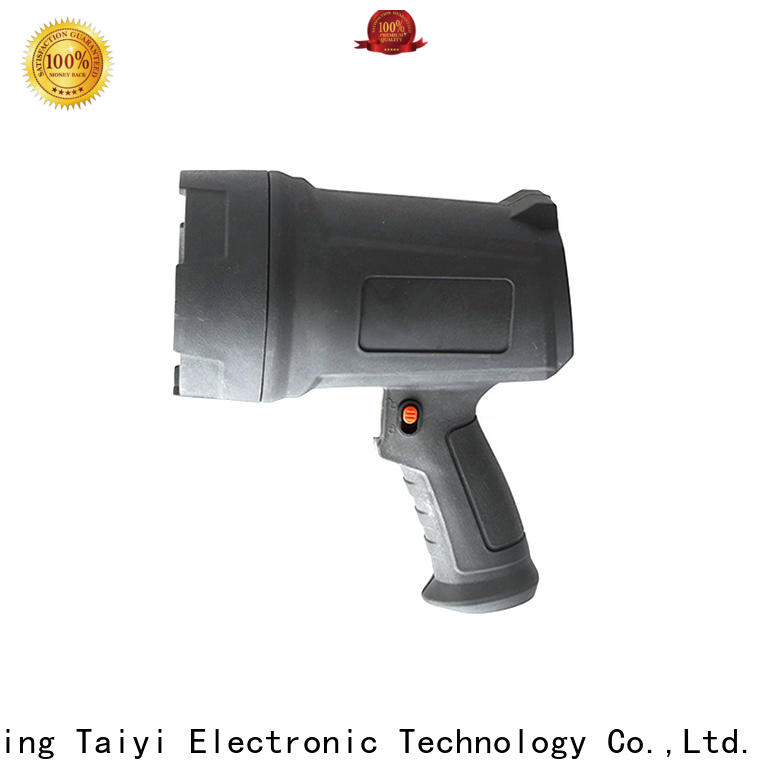 Taiyi Electronic high quality led handheld spotlight manufacturer for search