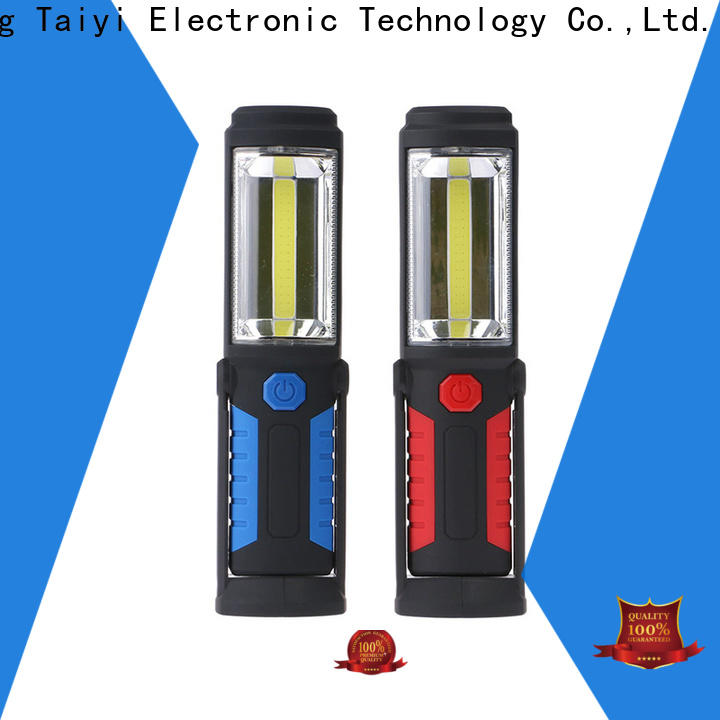 Taiyi Electronic cordless magnetic led work light rechargeable wholesale for electronics