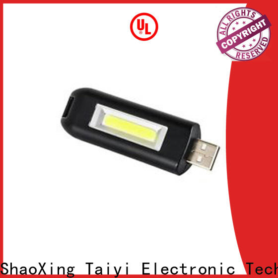 Taiyi Electronic rechargeable best keychain light manufacturer for roadside repairs