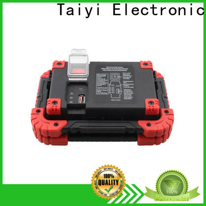 Taiyi Electronic battery best led work light manufacturer for roadside repairs
