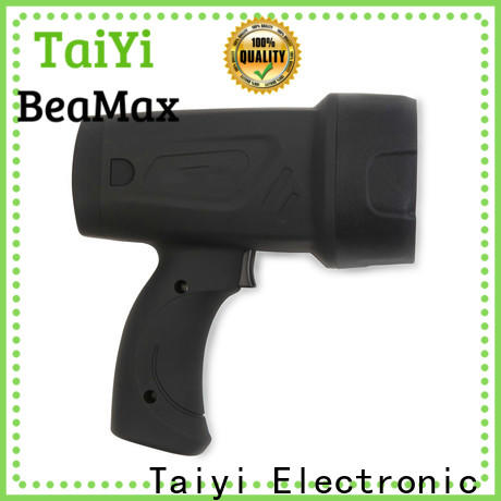 Taiyi Electronic stand led handheld spotlight 12v manufacturer for sports