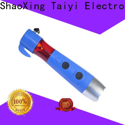 Taiyi Electronic battery rechargeable flashlight series for multi-purpose work light