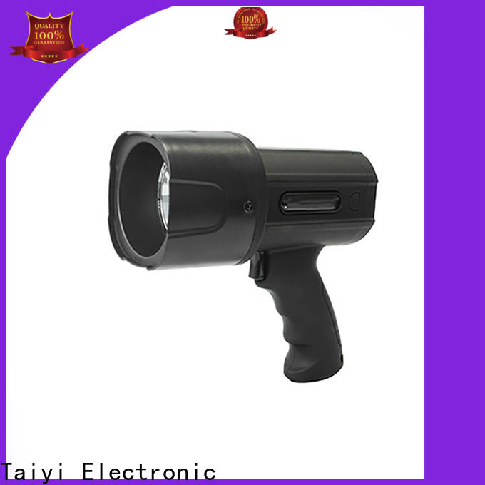 high quality waterproof rechargeable spotlight search manufacturer for vehicle breakdowns