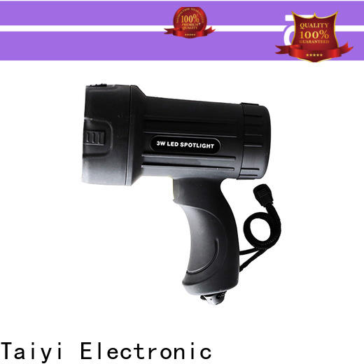 Taiyi Electronic spotlight handheld spotlight for boat supplier for sports