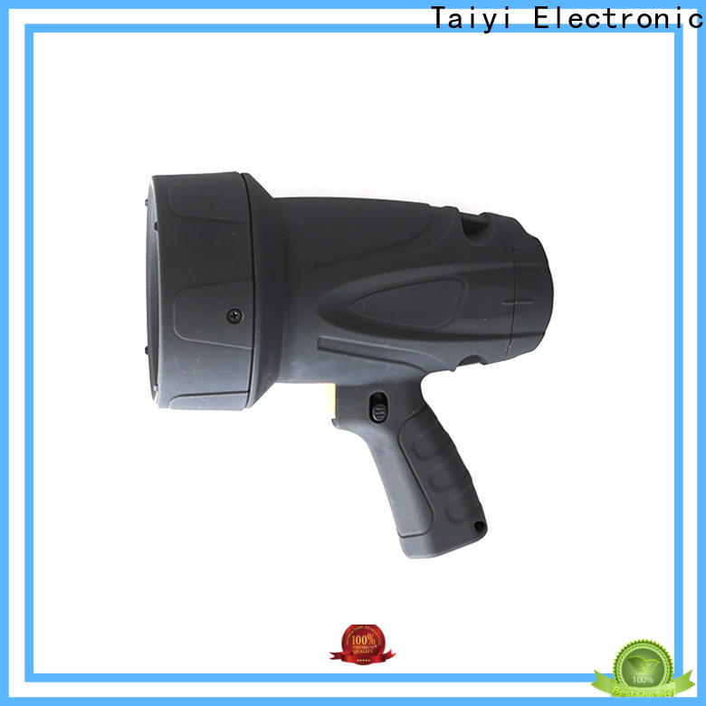 Taiyi Electronic rechargeable led handheld spotlight series for camping