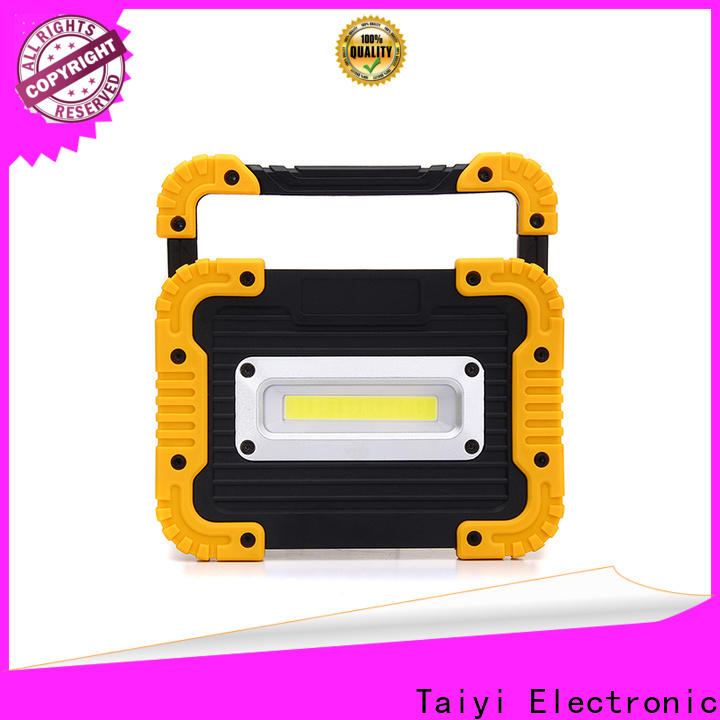 Taiyi Electronic pen rechargeable cob led work light wholesale for roadside repairs