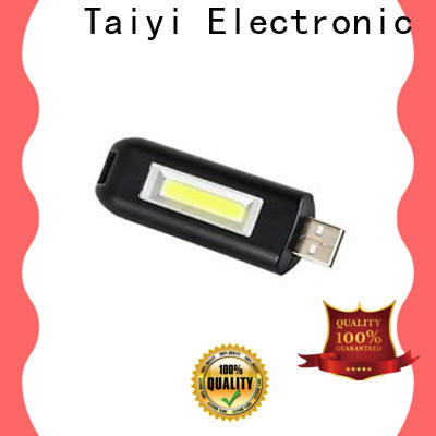 Taiyi Electronic flashlight mini flashlight keychain manufacturer for roadside repairs