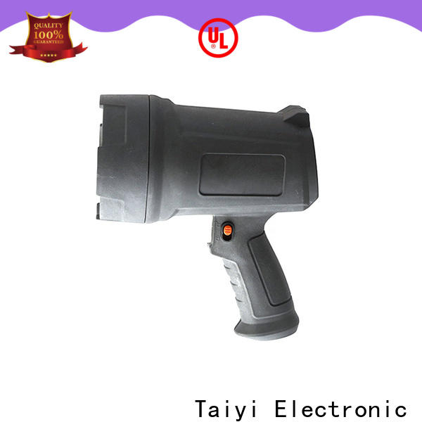 Taiyi Electronic battery best portable spotlight supplier for camping
