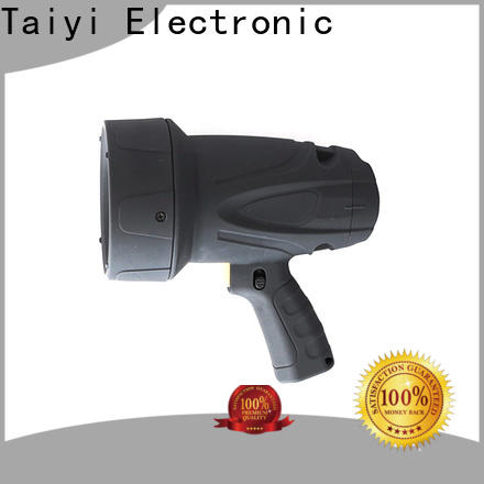 Taiyi Electronic reasonable led handheld spotlight 12v manufacturer for security