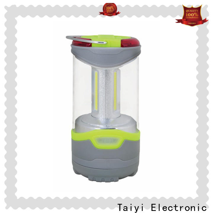 Taiyi Electronic durable rechargeable camping lantern supplier for roadside repairs