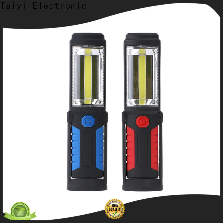 Taiyi Electronic lamp rechargeable led work light manufacturer for electronics