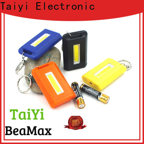 Taiyi Electronic colorful custom keychain flashlights manufacturer for electronics