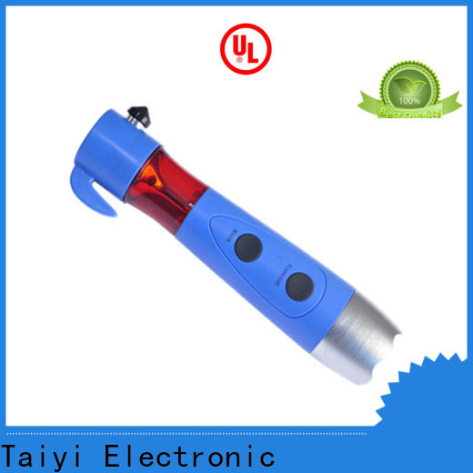 high quality rechargeable flashlight hammer supplier for multi-purpose work light