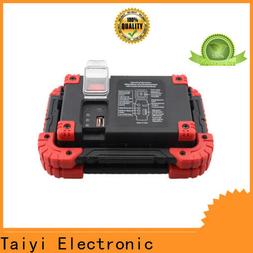 Taiyi Electronic stand rechargeable work light supplier for multi-purpose work light