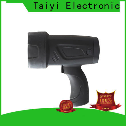Taiyi Electronic high quality 12v handheld spotlight wholesale for camping