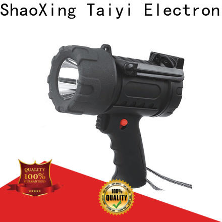 Taiyi Electronic high quality halogen handheld spotlight supplier for camping