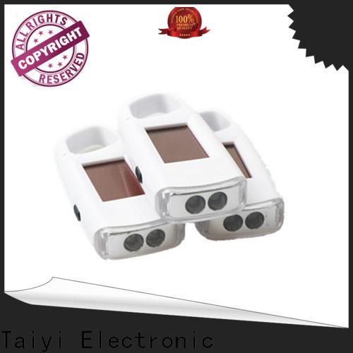 Taiyi Electronic mini promotional flashlight keychains wholesale for electronics